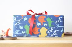Animal Circus Wrapping Paper Gift Wrapping, Wrapping Papers, Wrapping Ideas, Hand Illustration, Kids Gifts, Beautiful Hands, Toy Chest, Birthdays, Stationery
