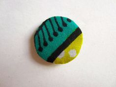 Petit Magnet Wax jaune et turquoise (envoi 0€) : Ecussons, appliques par cewax
