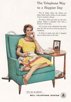1960's Bell telephone Ad