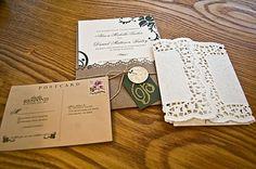 Victorian Wedding Invitations-Shabby Chic!