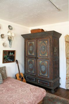 Gina's Vintage Bohemian Home Atop the Shop House Tour   Apartment Therapy