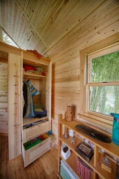 Interior tiny trailer home tiny house on a trailer for Tiny house payment plan