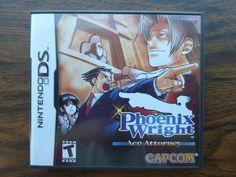 Phoenix Wright: Ace Attorney Nintendo DS Complete Video Game + Case Manual RARE  #sale   #ebay  +eBay