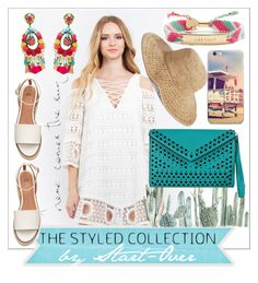 """""""Summer 2016 Trends @thestyledcollection"""" by start-over ❤ liked on Polyvore featuring Ranjana Khan, Kate Spade and Nordstrom"""