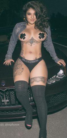Female latin stripper
