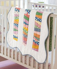 Baby Scallops by Marianne Fons is a great scrap quilt project!