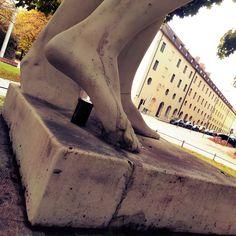 Finanzgarten München, Statue des Harmlos Thriller, Statue, Travel, Photos, Finance, Gardening, Trips, Traveling, Tourism