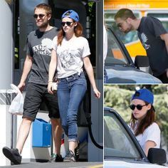 Exclusive — Robert Pattinson Gets Cute With a Pup During an Outing With Kristen Stewart