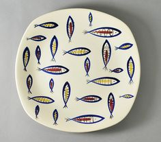 'Fish' by Jessie Tait for Midwinter Pottery by robmcrorie, via Flickr