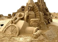 Image Search Results for sand sculptures Snow Sculptures, Lion Sculpture, Map Pictures, Sand And Water, Sand Art, Art Festival, Oeuvre D'art, Art Forms, Les Oeuvres