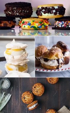 Mouthwatering Doesn't Begin to Describe These 11 Ice Cream Sandwiches by Nicole Perry 6/11/15