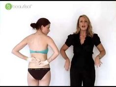 Guide to Self Tanning: How to Self Tan Stomach and Lower Back - Beautisol - YouTube