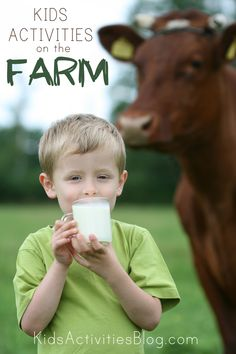 5 Kids Activities on the Farm - or in your backyard PRETENDING it is a farm :).
