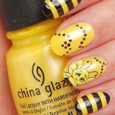 Cute bee art!