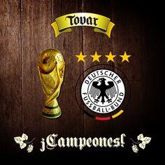 #Pinterest ¡Felicidades al equipo campeón de este Mundial Brasil 2014! ¡Alemania campeones!