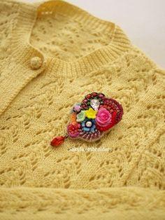 春だ〜|Sakula embroideryのアトリエ便り