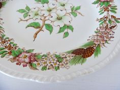 Brown Transferware ~ Mary Wald's Vintage Place