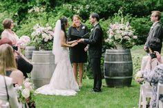 DeLille Cellars Wedding | Clane Gessel Photography | #weddings #ceremony #delillecellars