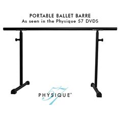 Portable Ballet Barre for #Physique57 online workouts