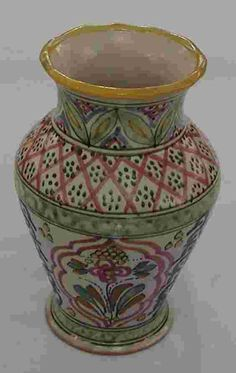 Classic Talavera Vase - Mexican Connexion for Talavera Pottery [ MexicanConnexionforTile.com ] #shop #Talavera #Mexican