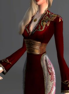 Game Of Thrones Collection [Part 5/?]Cersei Lannister | Lion Gown | Worn in Season 2. Guys, this one nearly killed me. I had to hand paint quite a bit of it. Nearly gave up on it a few times, but I...