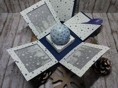 Explosionsbox für einen Snowball zum Nikolaus