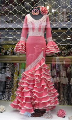 Flamenco dresses and accessories take center stage with beautifully bold design, colors, and patterns at the annual festival La Feria de Abril in Spain.