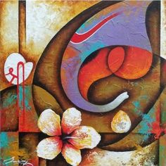 ideas for plants texture drawing Ganesha Drawing, Lord Ganesha Paintings, Ganesha Art, Krishna Art, Ganesh Tattoo, Plant Texture, Abstract Face Art, Texture Drawing, Drawing Drawing