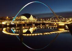 newcastle upon tyne at night Newcastle upon Tyne, England