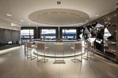 Hotel Président Wilson Penthouse Bar/ Restaurant Design | An $80,000 hotel suite in Geneva, Switzerland
