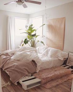 B R U W H O is part of Warm home decor - home decor dark wood Room Ideas Bedroom, Small Room Bedroom, Bedroom Decor, Bedroom Inspo, Warm Home Decor, Aesthetic Room Decor, Cozy Room, Dream Rooms, My New Room
