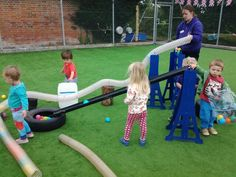 Tubes, ramps and balls Physical Play, Picnic Blanket, Outdoor Blanket, Construction Area, Outdoor Classroom, Play Spaces, Reggio, Outdoor Play, Childcare