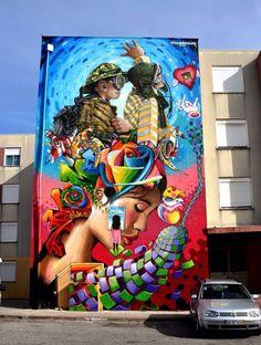Street Art in Portugal by Nomen
