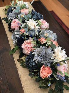 Funeral Floral Arrangements, Tropical Floral Arrangements, Floral Centerpieces, Flower Arrangements, Centerpiece Wedding, Leaf Garland, Floral Garland, Flower Garlands, Colorful Flowers