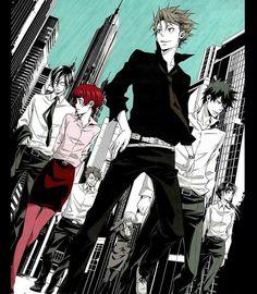 Kagari Shuusei, Tsunemori Akane, Kougami Shinya, Ginoza Nobuchika || Psycho-Pass