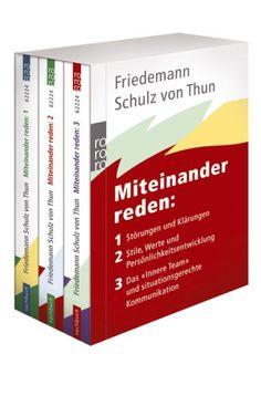 Miteinander reden, 3 Bde.: Amazon.de: Friedemann Schulz von Thun, Friedemann Schulz von Thun: Bücher