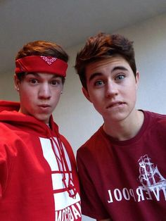 Taylor Caniff and Nash Grier