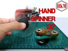 Hand Spinner/Fidget Spinner DIY Tutorial (EASY!!!) - YouTube