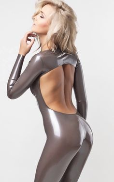 Latex is my Life — latexfashion: Naked back.