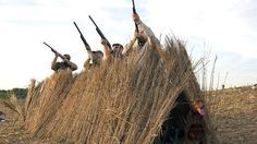 Make Hunting Safety A Top Priority - HuntingTopic Duck Blind Plans, Duck Boat Blind, Dove Hunting, Deer Hunting Tips, Hunting Stuff, Hunting Gear, Goose Blind, Duck Hunting Blinds, Pvc Blinds