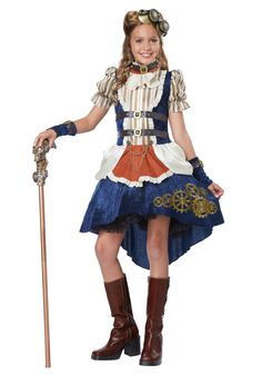 Cute Halloween Costume Ideas for Women . Lovely Cute Halloween Costume Ideas for Women . Halloween Costumes for Teens & Tweens Halloweencostumes Steampunk Kids, Steampunk Fashion, Victorian Steampunk, Kids Steampunk Costume, Steampunk Halloween, Steampunk Witch, Steampunk Couture, Steampunk Dress, Steampunk Clothing