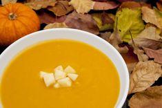 Dairy free Silk Recipes: Creamy Butternut Squash and Apple Soup Easy Soup Recipes, Apple Recipes, Vegetarian Recipes, Healthy Recipes, Yummy Recipes, Milk Recipes, Free Recipes, Healthy Food, Butternut Squash Apple Soup