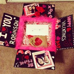USAF Valentines day long distance idea. DIY Air Force Love care package
