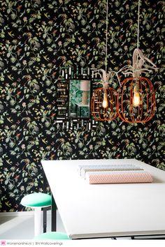 Designed for Living, de nieuwe behangcollectie van BN Wallcoverings... Tropisch, fris en oogverblindend; deze collectie in samenwerking met Jantien en Noor van design studio Designed for Living brengt je muren tot leven.