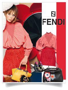 """Fendi Monday"" by fl4u ❤ liked on Polyvore featuring Fendi"