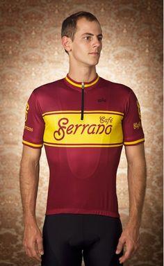 Café Serrano jersey. Will Link · Cycling kits 491cf05ad
