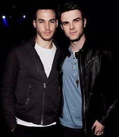 The Vampire Diaries ... Chris Wood and Nathaniel Buzolic as Kai Parker and Kol Mikaelson