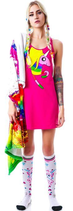 Undergirl Rainicorn Dress | Dolls Kill. Got it from amazon! Super cute and soft!