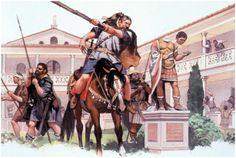 El saco de Roma. Alarico. 410