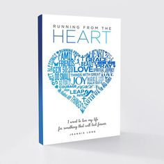 Cassandra M's Place: Running from the Heart By Jeannie Long  Feature